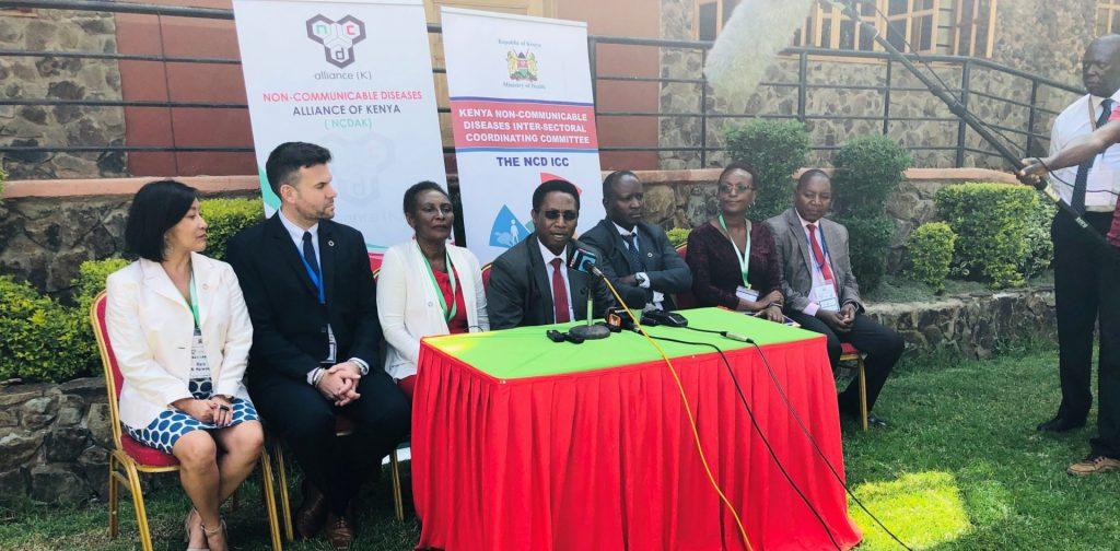 NCDs stakeholder meeting in Kenya