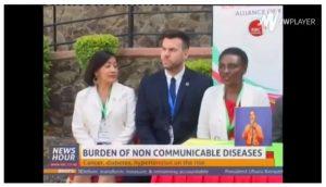 Kenyan media coverage of Naivasha NCD meeting